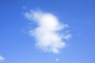 青空と綿雲の写真素材 [FYI04816128]