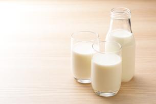 牛乳の写真素材 [FYI04816354]