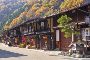 木曽 奈良井宿の写真素材 [FYI04816660]