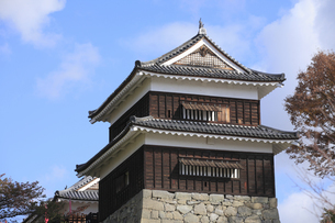 上田城の南櫓の写真素材 [FYI04816674]