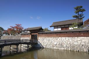 松代城の太鼓門の写真素材 [FYI04816683]