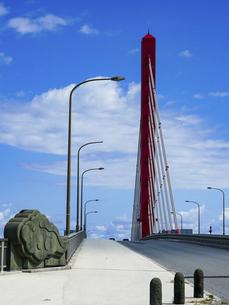 沖縄 海中道路 平安座海中大橋(へんざかいちゅうおおはし)の写真素材 [FYI04816898]