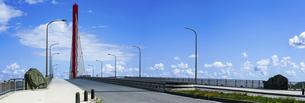 沖縄 海中道路 平安座海中大橋(へんざかいちゅうおおはし)の写真素材 [FYI04816899]