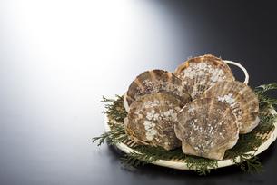 帆立貝の写真素材 [FYI04817652]