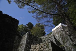 備中松山、大手門跡。の写真素材 [FYI04818210]