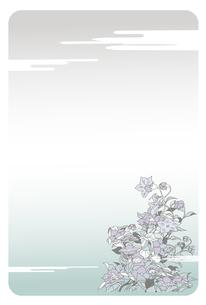 喪中葉書,リンドウのイラスト素材 [FYI04818253]