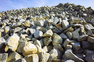【香川県 高松市】庵治石の採石場 花崗岩の写真素材 [FYI04820487]