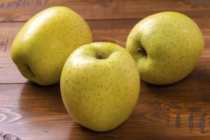 王林りんごの写真素材 [FYI04820736]
