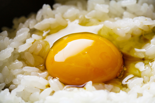 卵かけご飯の写真素材 [FYI04821193]