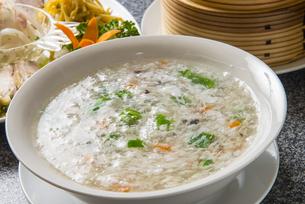 海鮮玉子スープの写真素材 [FYI04821212]