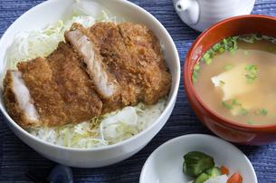 駒ヶ根ソースカツ丼の写真素材 [FYI04821312]