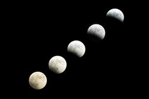 皆既月食の写真素材 [FYI04821451]