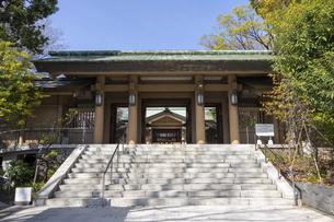 東郷神社 入口の写真素材 [FYI04822197]