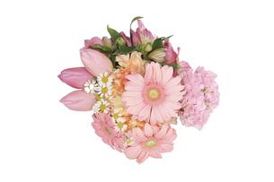 様々な花のブーケの写真素材 [FYI04822922]