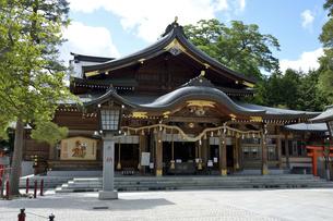 竹駒神社 拝殿の写真素材 [FYI04822945]