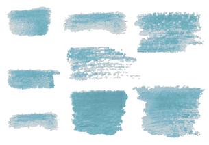 手描きした水彩の線【バリエーション】のイラスト素材 [FYI04823989]