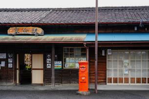 大井川鐵道家山駅の写真素材 [FYI04824397]