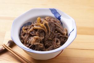牛肉のしぐれ煮の写真素材 [FYI04825278]