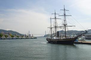 長崎港の写真素材 [FYI04825960]