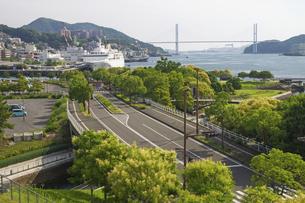 長崎港の写真素材 [FYI04825962]