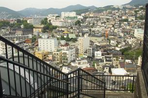 長崎市の町並みの写真素材 [FYI04825974]