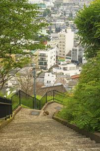 長崎市の町並みの写真素材 [FYI04825980]