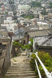 長崎市の町並みの写真素材 [FYI04825982]
