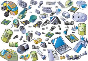 産業廃棄物のイラスト素材 [FYI04826017]