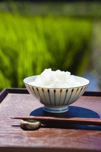 お茶碗に入ったご飯の写真素材 [FYI04826154]
