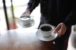 入れたてのコーヒーの写真素材 [FYI04827518]