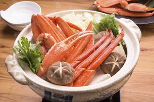 かに鍋(ズワイガニ)の写真素材 [FYI04827808]