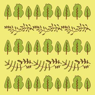 手書き風のシンプルな植物のベクターイラストのイラスト素材 [FYI04827951]