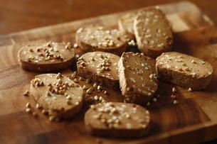 蕎麦クッキーの写真素材 [FYI04828085]