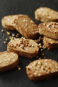 蕎麦クッキーの写真素材 [FYI04828088]