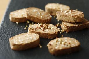 蕎麦クッキーの写真素材 [FYI04828089]