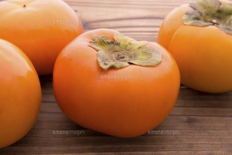 富有柿の写真素材 [FYI04828536]