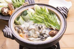 牡蠣鍋の写真素材 [FYI04828549]