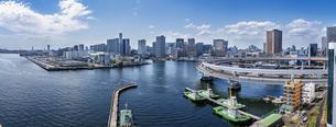 東京湾岸の風景の写真素材 [FYI04829598]