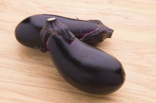 卵形茄子の写真素材 [FYI04830256]