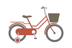 かわいい子供用の自転車のイラスト素材 [FYI04831692]
