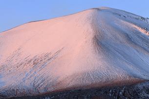 12月 天明の飢饉をもたらした浅間山の写真素材 [FYI04831866]