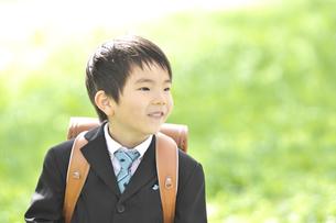 小学一年生の男の子の写真素材 [FYI04831897]