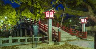 福岡県 風景 太宰府天満宮 夕景の写真素材 [FYI04832155]