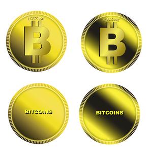ビットコインのイラスト素材 [FYI04832361]
