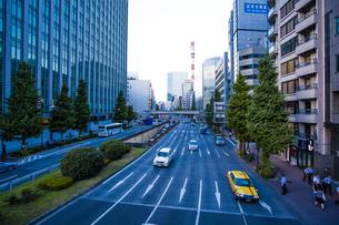 昭和通りの写真素材 [FYI04832375]