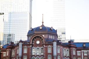 東京駅舎丸の内口の写真素材 [FYI04832487]