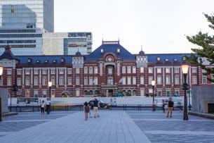 東京駅舎丸の内口の写真素材 [FYI04832496]