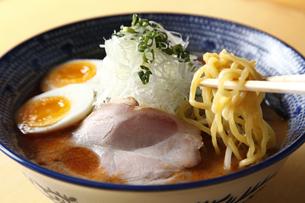 海老味噌ラーメンの写真素材 [FYI04832666]