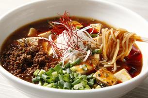 麻婆豆腐ラーメンの写真素材 [FYI04832667]