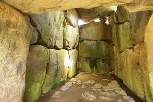 石舞台古墳内部の写真素材 [FYI04832762]